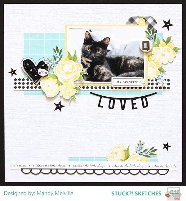 One Cool Cat Scrapbook Layouts 3 T