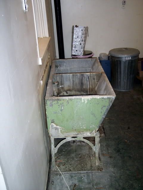 old concrete laundry sink Laundry Rooms Past Pinterest