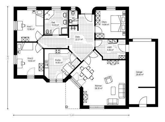 Ber ideen zu bungalow bauen auf pinterest for Haus bauen 200qm