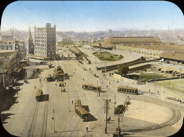 Railway Square 1910 http://www.flickr.com/photos/intervene/5183751883/