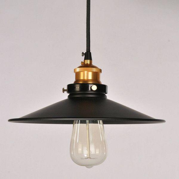 Vintage nostaljik bar masa ampul siyah demir kolye ışıkları tek çubuk lambalar Avize Cam Gölge Tavan Lamba Armatür Blub açtı