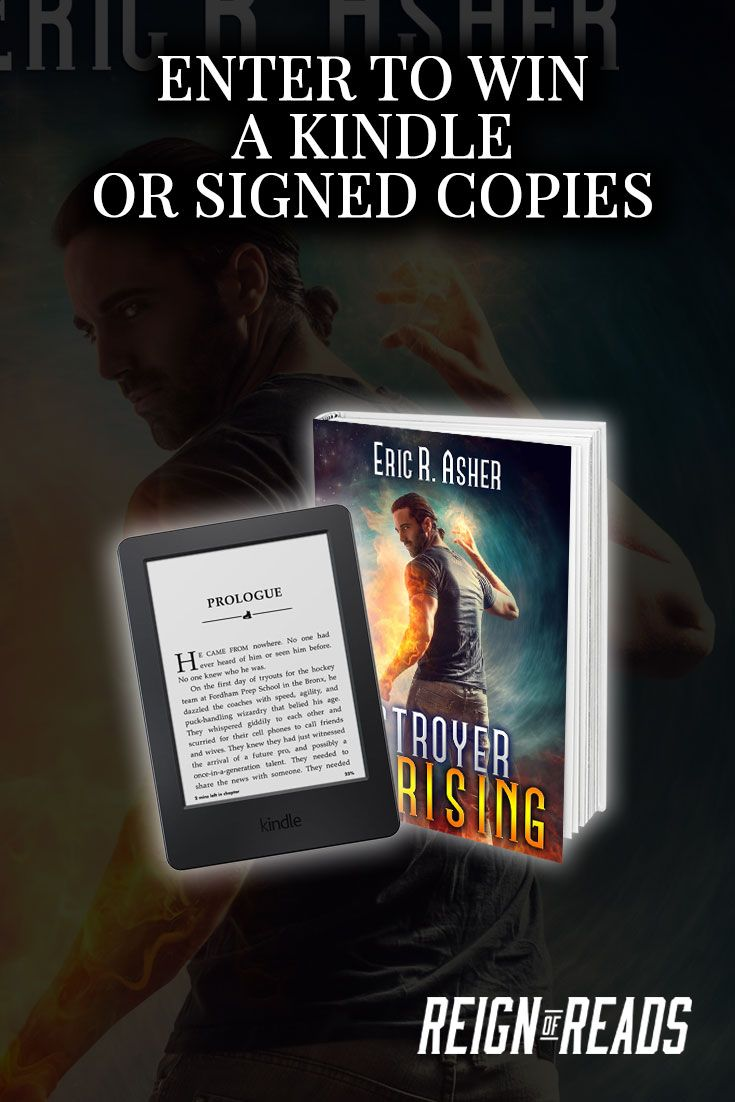 Win a Kindle Paperwhite or Signed Copies from Bestselling Author Eric R. Asher