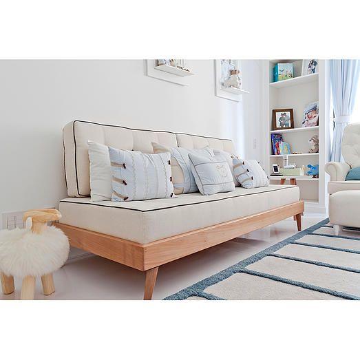 Ameise design beb s temas neutroscama palito solteiro for Sofa bed uma