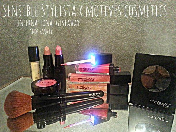 Motives Cosmetics Giveaway  @sensiblestylista  http://sensiblestylista.blogspot.ro/2014/02/motives-cosmetics-giveaway.html