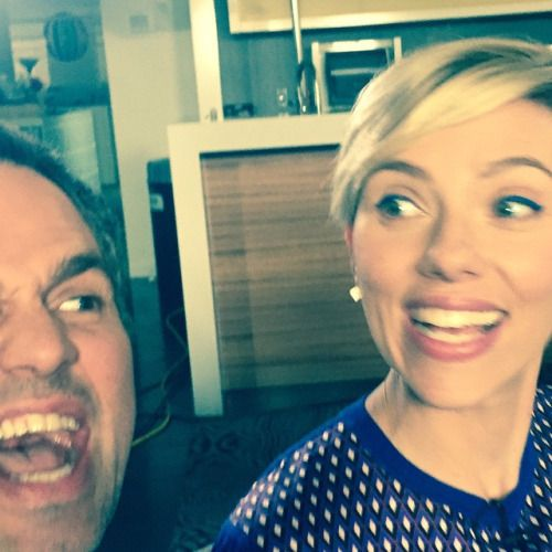 """""""Hello From The Avengers Age Of Ultron Press Junket. My"""