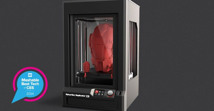 MakerBot Unleashes Giant Z18 3D Printer That Can Print 10 Items at Once