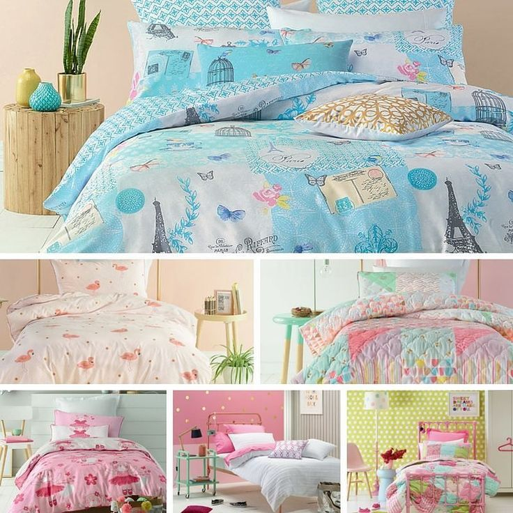 THIS is what sweet dreams are made of. Calming pastels for a comfortable sleep. #bedroominspo #style #interiorstyle #sweetdreams #pastel #pink #musthave