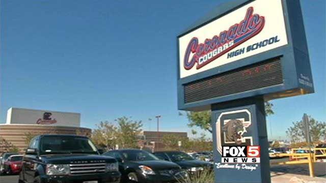 Coronado High School campus, in this undated photo. (FOX5 FILE)