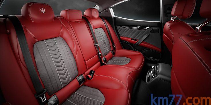km77.com - Maserati Ghibli Gama Ghibli Luxury Turismo Interior Asientos 4 puertas