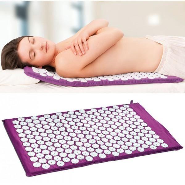 Tapis D Acupression Energie Pour Yoga Acupression Accessoires