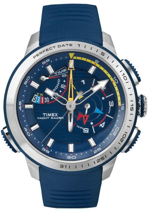Timex Intelligent Quartz Yacht Racer Blue