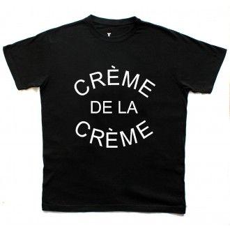 Creme De La Creme Man Black T-shirt