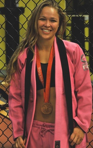 Olympic medalist in judo! UFC champion! This women is unreal! 8531 Santa Monica Blvd West Hollywood, CA 90069 - Call or stop by anytime. UPDATE: Now ANYONE can call our Drug and Drama Helpline Free at 310-855-9168.