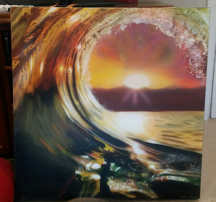 wave airbrush - By Andrew Ross