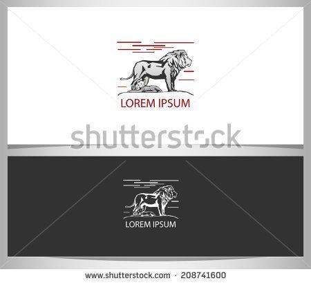 Lion business logo