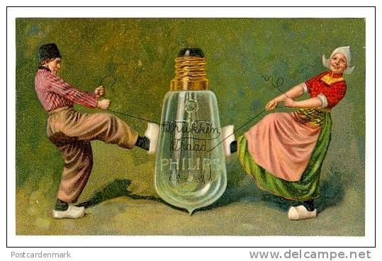 PHILIPS LAMPS, Fine Litho, ADVERTISING