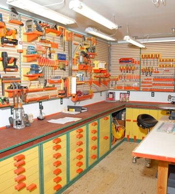210 best workshop images on Pinterest Workshop ideas, Garage - home workshop ideas