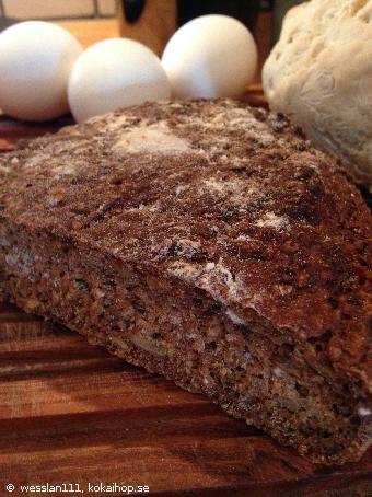 Recept - Danskt rågbröd