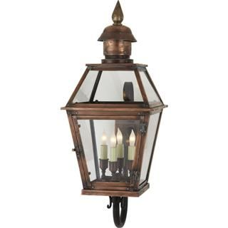 Check out the Visual Comfort CHO2081NC Chart House Pimlico Medium 4 Light Tube Arm Lantern in Natural Copper priced at $1,049.90 at Homeclick.com.