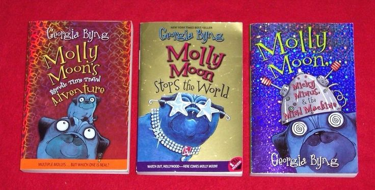 3 Teacher Resource Molly Moon Chapter Books~Georgia Byngs Matched Set Ages 8-13