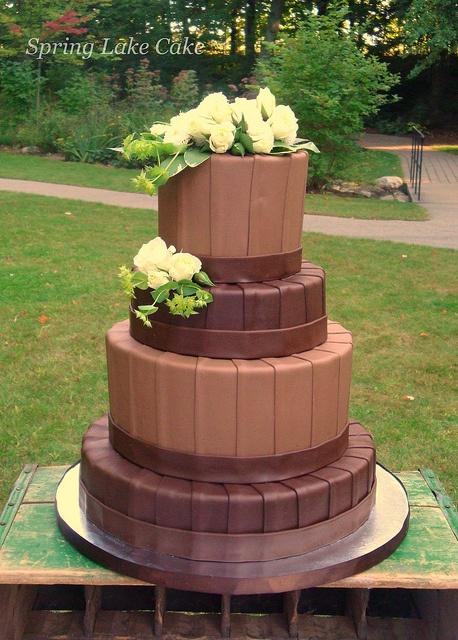 Chocolate Wedding Cake ~ Wow!
