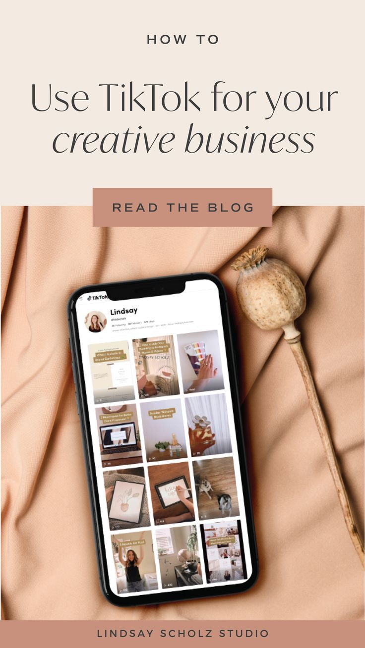 How To Use Tiktok For Business In 2020 Lindsay Scholz Studio Creative Studio For Woman Owned Businesses Small Business Ideas Diy Small Business Ideas Startups Business Read