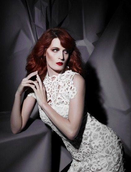 Florence Welch by Karl Lagerfeld