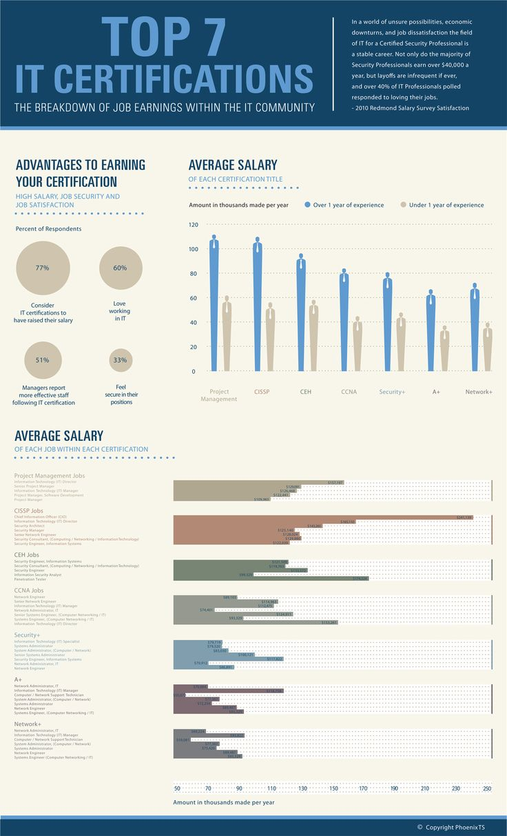 65 best education infographics images on pinterest visual top 7 it certifications infographics mania xflitez Image collections