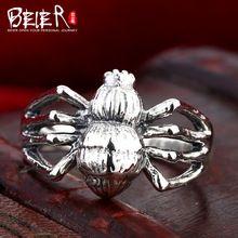 Beier 925 gioielli in argento sterling 2015 punk anello animale Ragno…