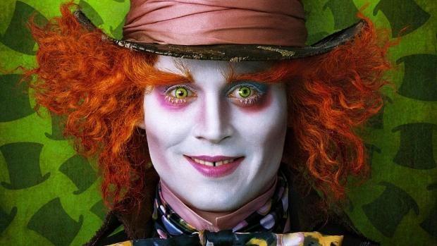 """Johnny Depp als der verrückte Hutmacher in """"Alice im Wunderland"""" - ddp images                                                                                                                                                                                 Mehr"""