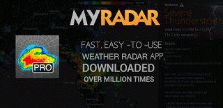 MyRadar Weather Radar Pro v4.1.7 Patched  Martes6 de Octubre 2015.By : Yomar Gonzalez ( Androidfast )  MyRadar Weather Radar Pro v4.1.7 Patched Requisitos: 4.0 Información general: MyRadar Anuncios Gratis es la versión libre de anuncios de la aplicación de radar libre que conduce MyRadar. Se trata de una sin lujos aplicación rápida y fácil de usar que muestra el radar meteorológico de animación alrededor de su ubicación actual lo que permite ver rápidamente lo que el tiempo está llegando a…