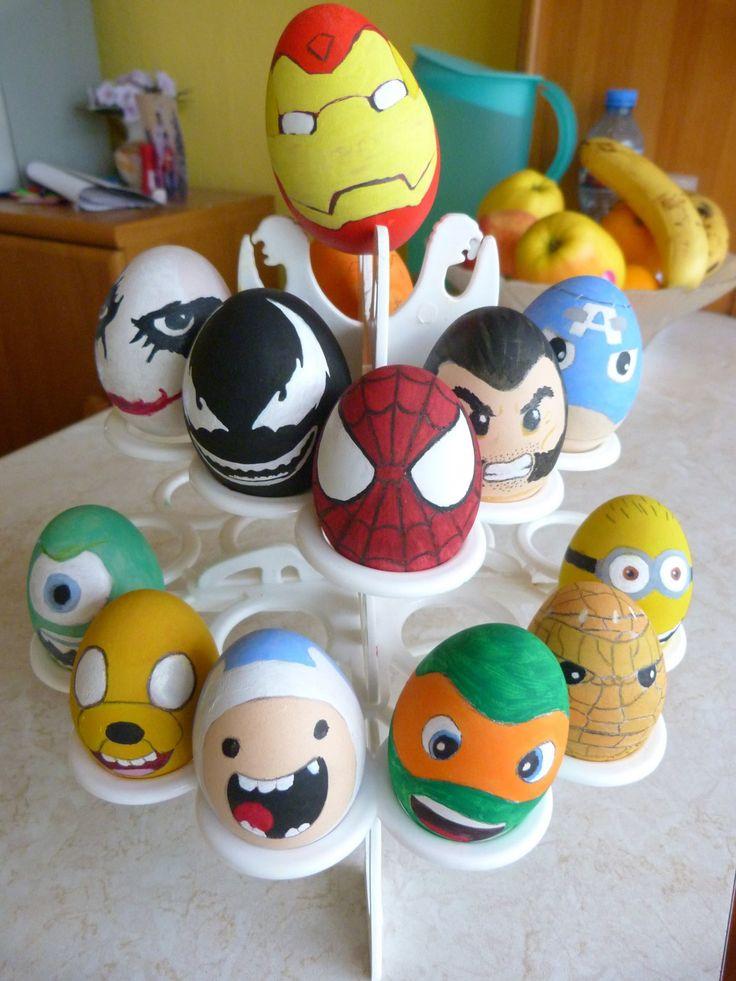 The superheroic eggs
