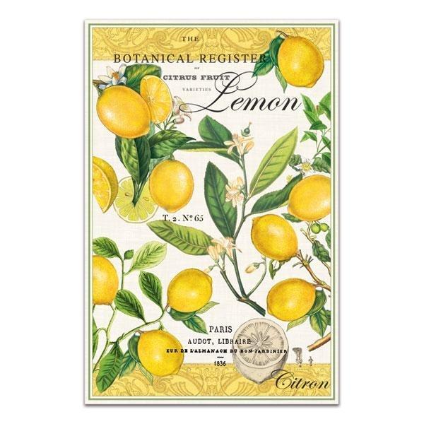 Lemon Kitchen Towel: perfect for my vintage lemon theme!