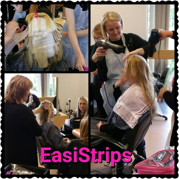 EasiStrips with College girls having a fun day working with them.
