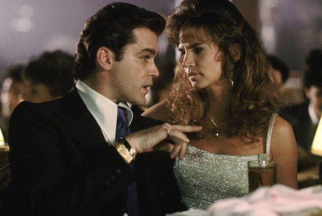 Still of Ray Liotta and Gina Mastrogiacomo in Goodfellas ... Al Pacino Monologue
