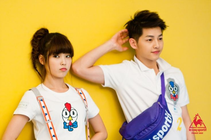 """ Joong Ki for le coq sportif feat. IU [13] """