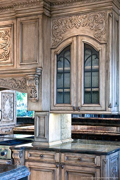 Cabinets - restoration details