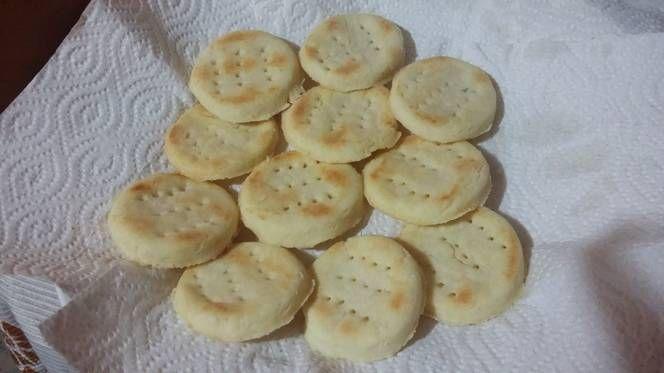 Bizcochitos salados para el mate sin gluten