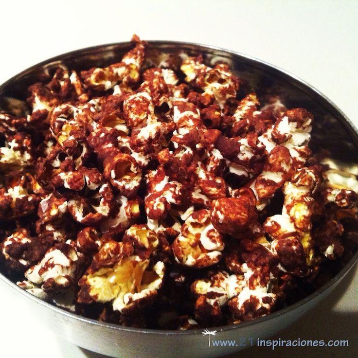 Palomitas de chocolate Chai - 21 Inspiraciones