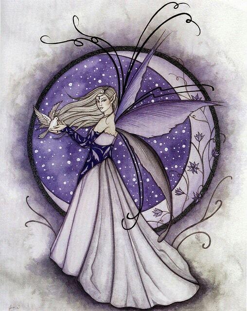 Lavender Fairy by Jessica Galbreth