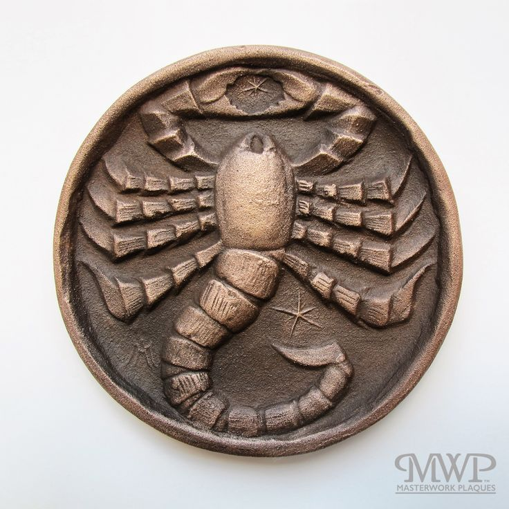 scorpio | contact us at masterworkplaques@gmail.com for all purchasing inquiries.