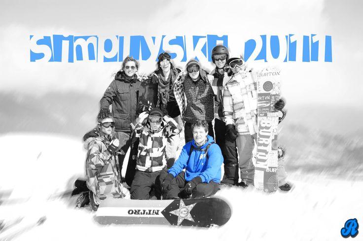Goeie Tijden...St. Francois Longchamp, Frankrijk, Wintersport 2011