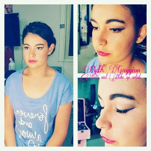 Maquillaje para egresada #prom #makeup