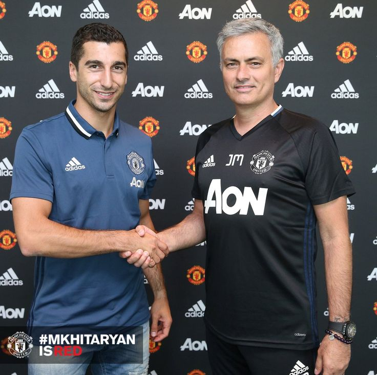 """Mourinho: """"I believe he (Mkhitaryan) will make an impact on the team very quickly as his style of play is suited to the Premier League"""