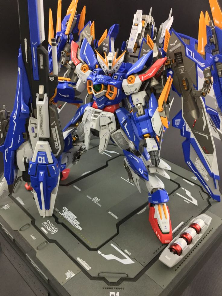 Custom Build: MG 1/100 Amazing Wing Gundam Zero
