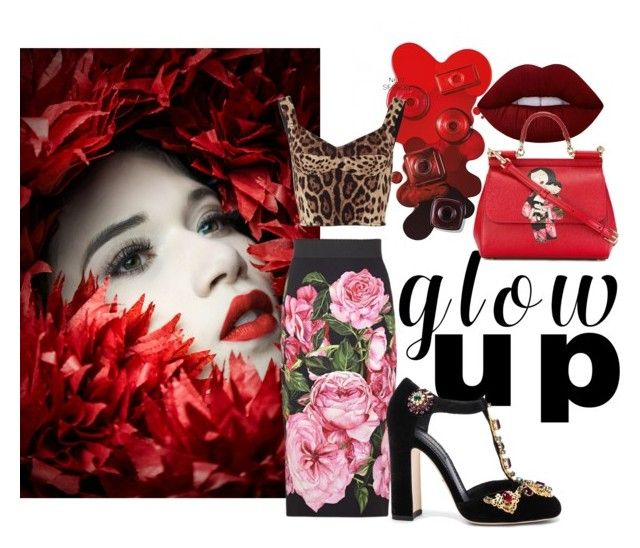 Hot stuff by illetilmote on Polyvore featuring Dolce&Gabbana and Lime Crime