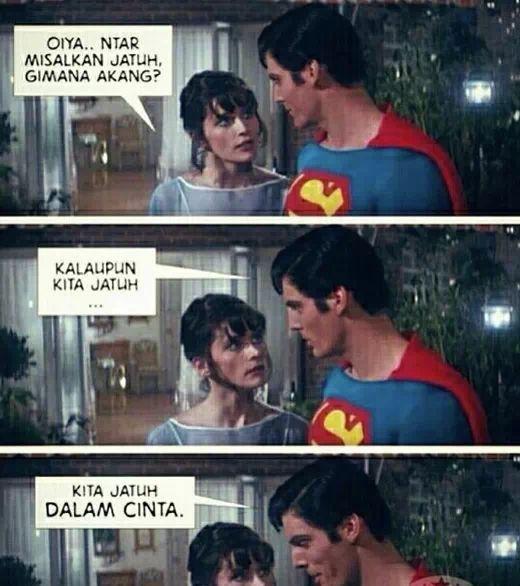 Superman gombal