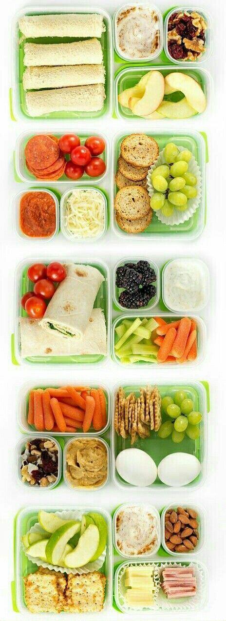 ¿Los niños han vuelto a la #escuela y aún no sabes qué #lunch ponerles? Estos son los #SnacksParaLaEscuela más ricos y #saludables.