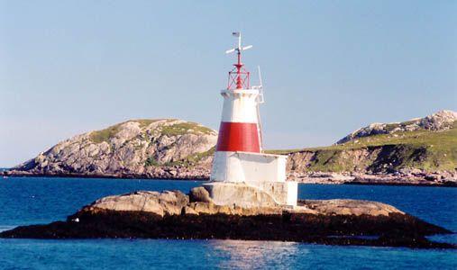 Atlantique -  Feu du Rocher Petit St.-Pierre (Saint-Pierre et Miquelon)