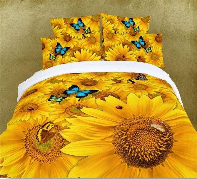 205 best decoracion de dormitorio images on pinterest for Sunflower bedroom decor